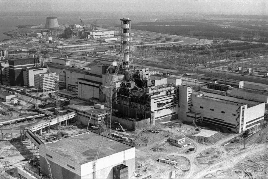 Chernobyl after the meltdown