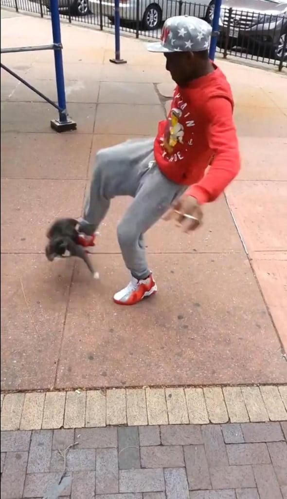 Cat kicker Andre Robinson