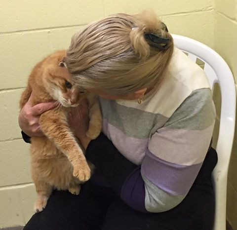Woman returns to adopt 16-year-old Max (1)