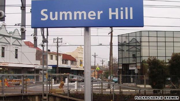 Summer Hill suburb of Sydney
