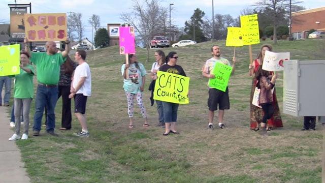 Protest over Mt Juliet Animal Shelter decision