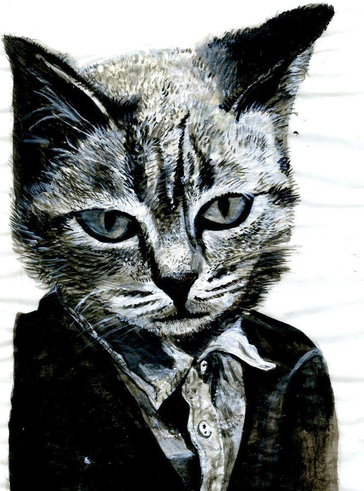 Cat as human
