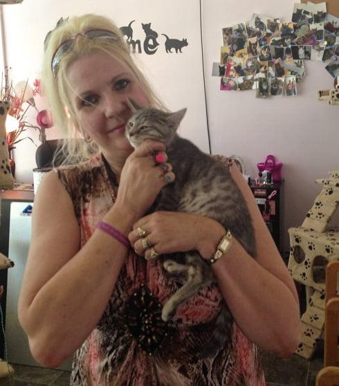 Martin a cat rescuer who failed