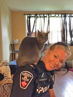Beth an animal loving police officer