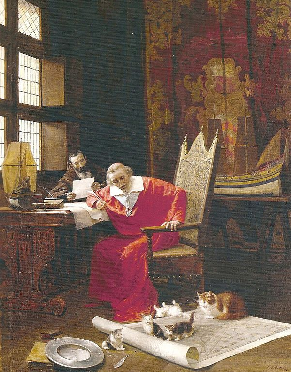 Richelieu et ses chats
