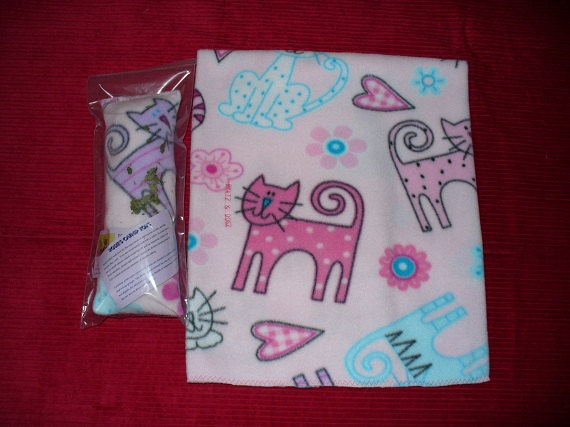 Valentine's Day for cats Blanket and Pillow
