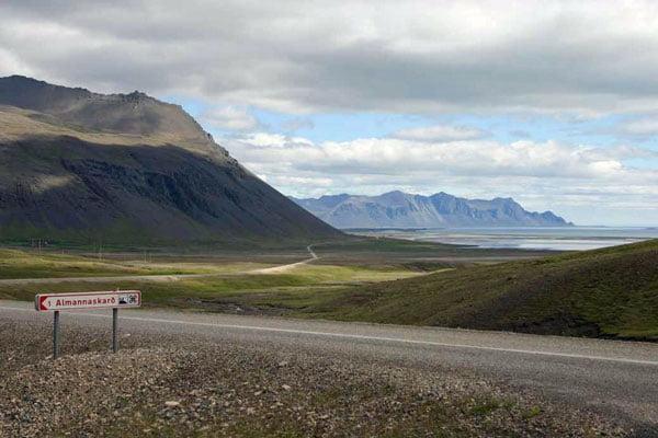 Almannaskarð, Iceland