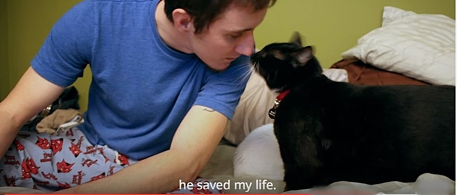 The heartbreaking story of a U.S. Army veteran who suffered a traumatic brain injury and the kitten who saved him