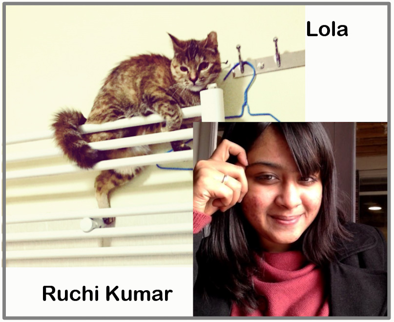 Ruchi Kumar and Lola who suffered from PTSD after a huge explosion