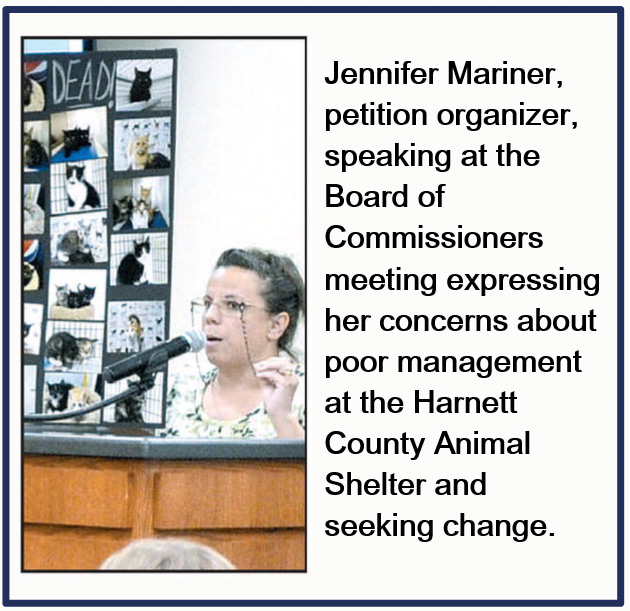 Animal advocates demand new management at Harnett County Animal Shelter