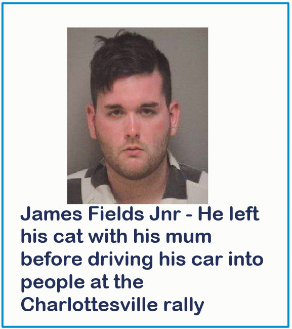 Car suspect left his cat with mother