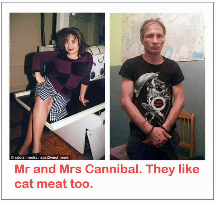 Mr and Mrs Cannibal