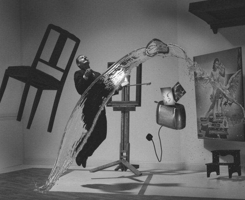Karl Taylor's recreation of Halsman's Dali Atomicus