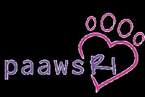 The logo of PAAWS at RI