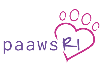 The logo of PAAWS at RI