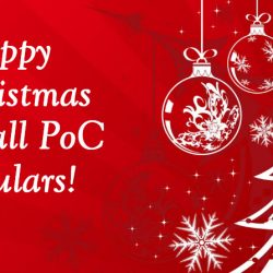 Happy Christmas from PoC