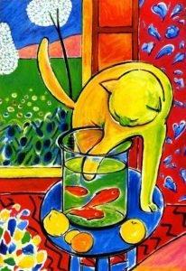 Le chat aux poissons rouges Henri Matisse