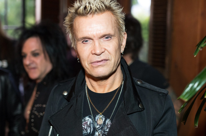 Billy Idol photo by WireImage