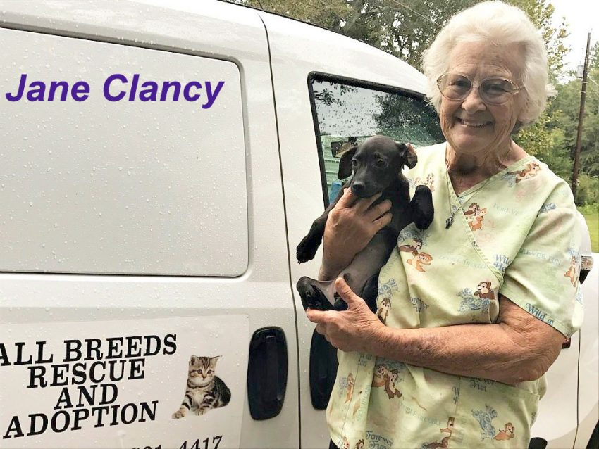 Jane Clancy died in a fire at her rescue center trying to save rescue animals