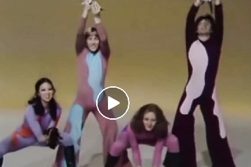 Dance troupe using kittens