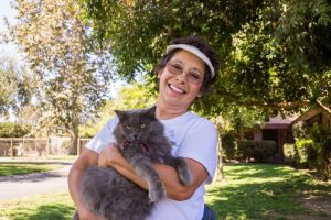 She has rescued 30,000 cats in 25 years