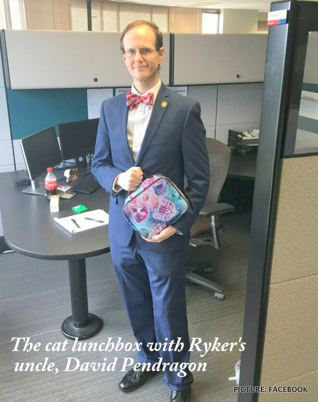 Stereotyping, bullying and prejudice against 10-year-old boy with cat lunchbox