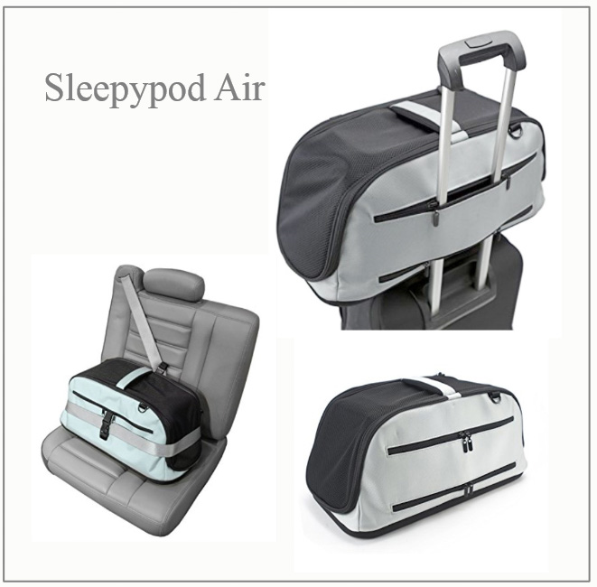 Sleepypod Air - the Rolls Royce of cat carriers for air travel