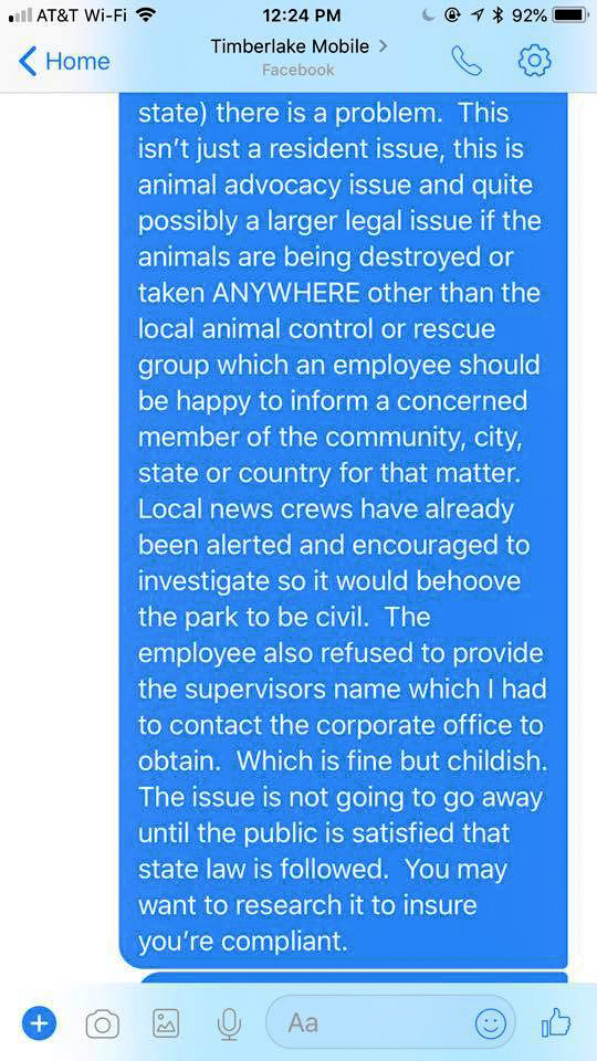 Residential park management get away with poisoning community cats