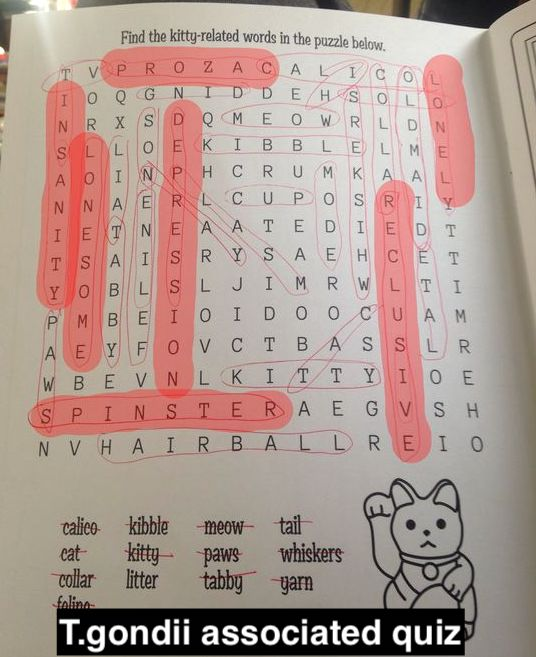 T. gondii puzzle