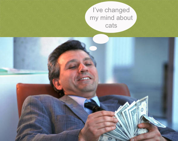 Cats promote business!