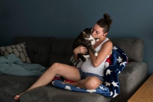 Jessica Boer, 26, decided not to have children. Photo: Brittany Greeson for The New York Times