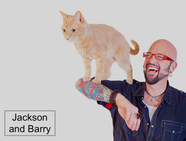 Jackson Galaxy loved and misses his cat Barry