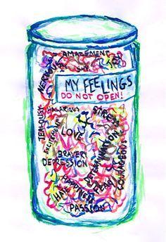 Locked up feelings