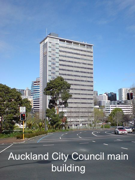 Auckland City Council main building