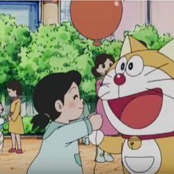 Japanese robotic cat manga