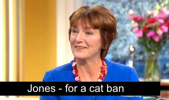 Jones a journalist wants a ban