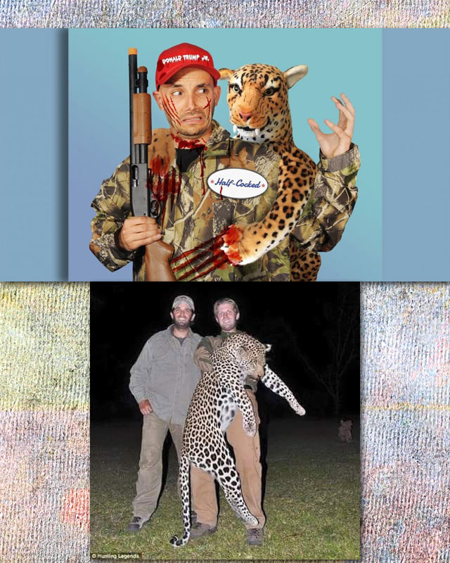 PETA take the piss out of Donald Trump Jnr.