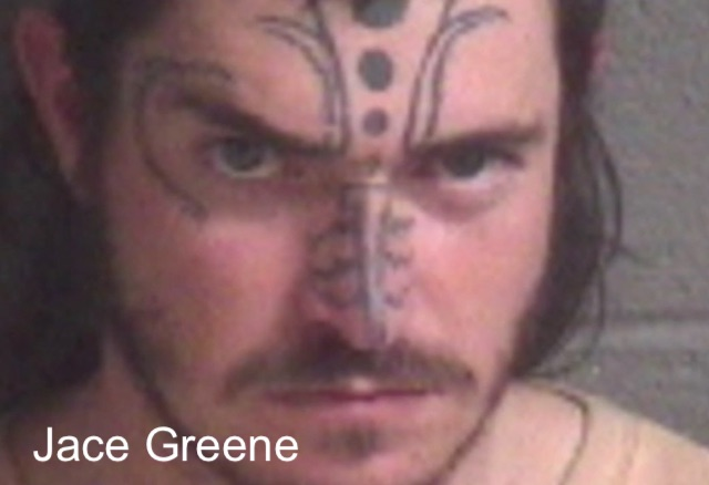 Jace Greene - Arrested for improper burial of a cat