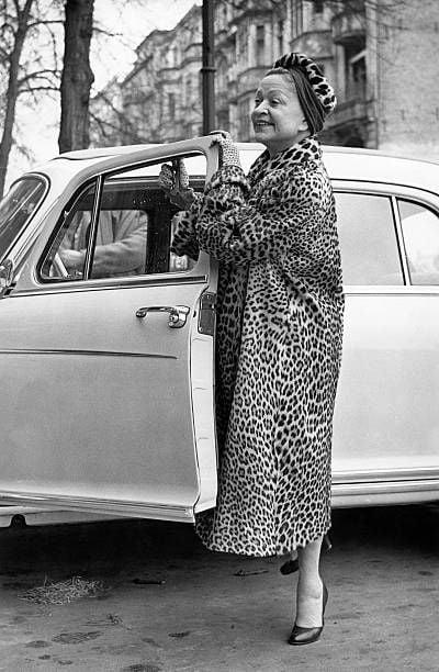 Ocelot coat 1957