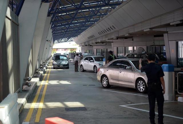 Singapore to Malaysia border