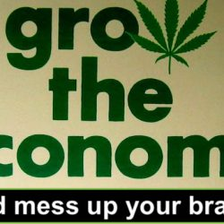 Grow the economy and mess up your brains