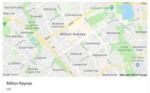 Milton-Keynes map