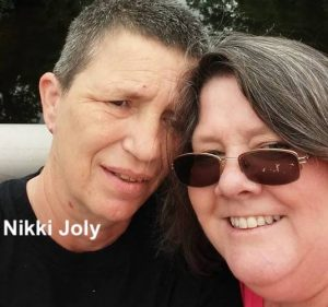 Nikki Joly and wife
