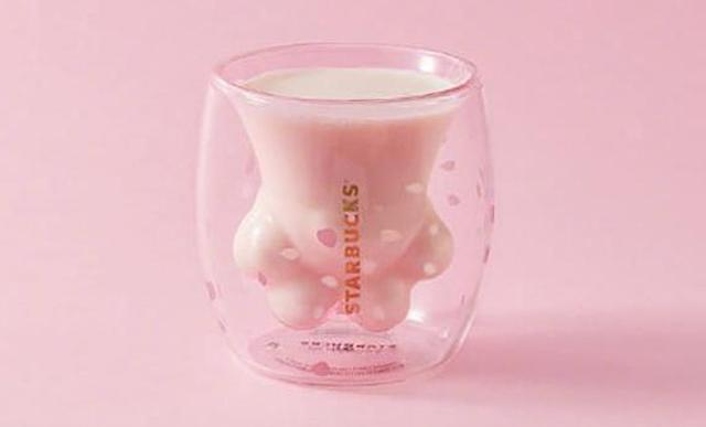 Starbucks Cat Paw Cup