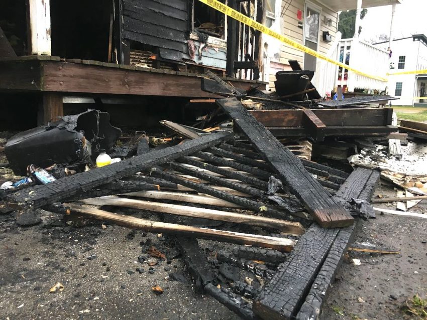 Cats missing in house fire