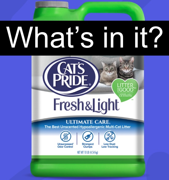Cat's Pride Lightweight litter