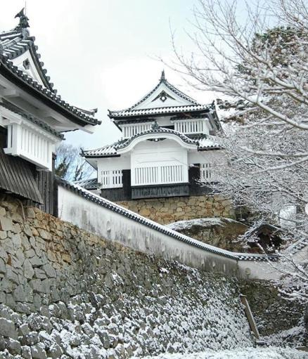 Bitchu Matsuyama Castle in Takahashi, Okayama Prefecture