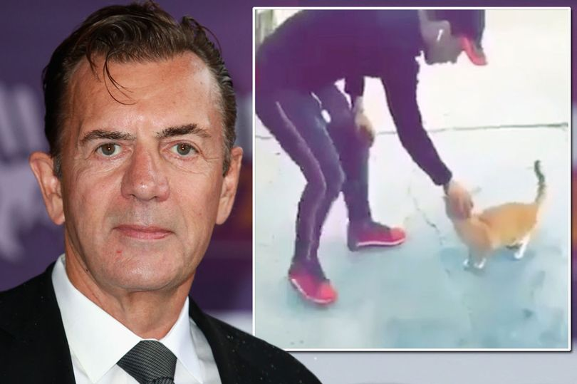 Duncan Bannatyne and still from the video.