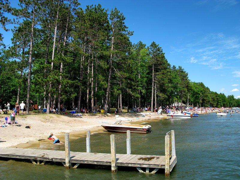 Higgins Lake, Michigan, USA.