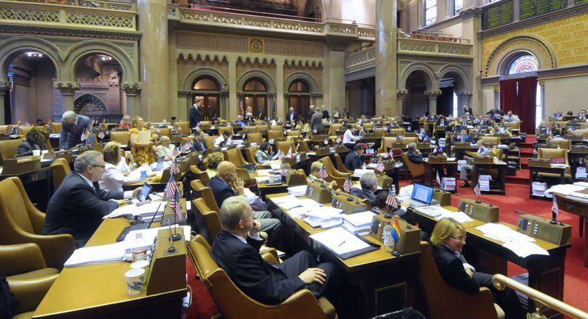 NY state legislature